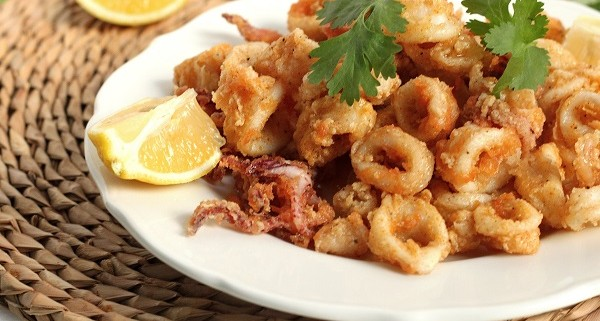 Fried Calamari - Calmars frits